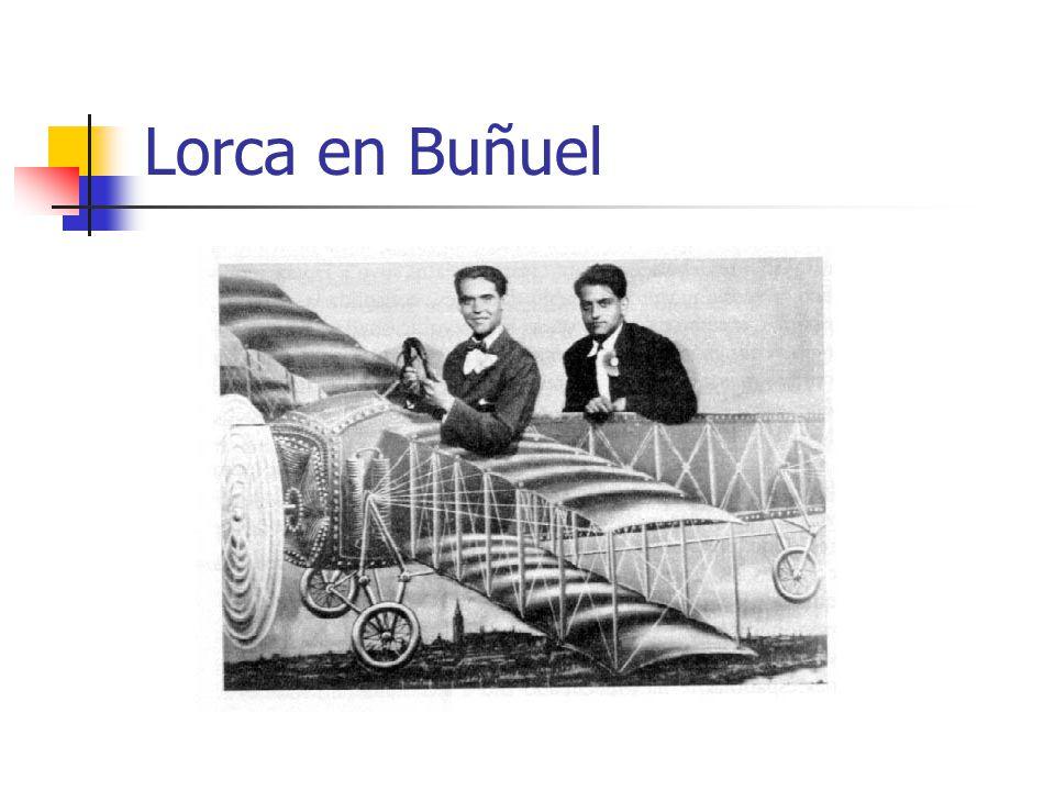 Lorca en Buñuel