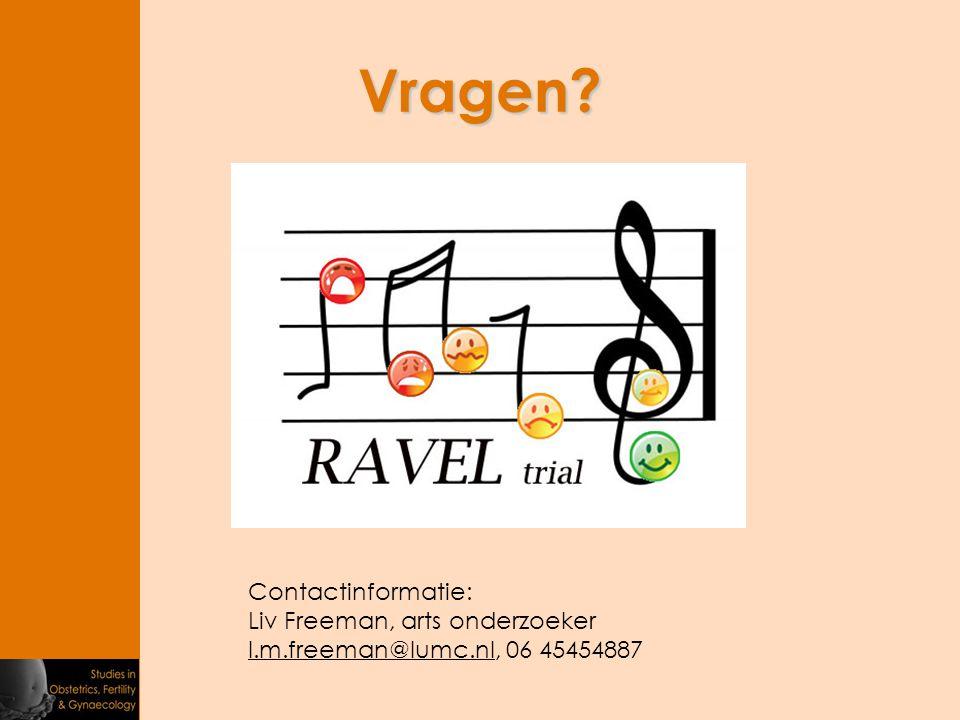 Vragen? Contactinformatie: Liv Freeman, arts onderzoeker l.m.freeman@lumc.nll.m.freeman@lumc.nl, 06 45454887