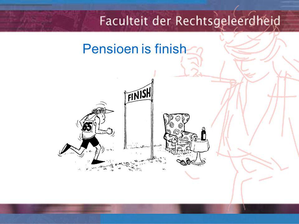 Pensioen is finish