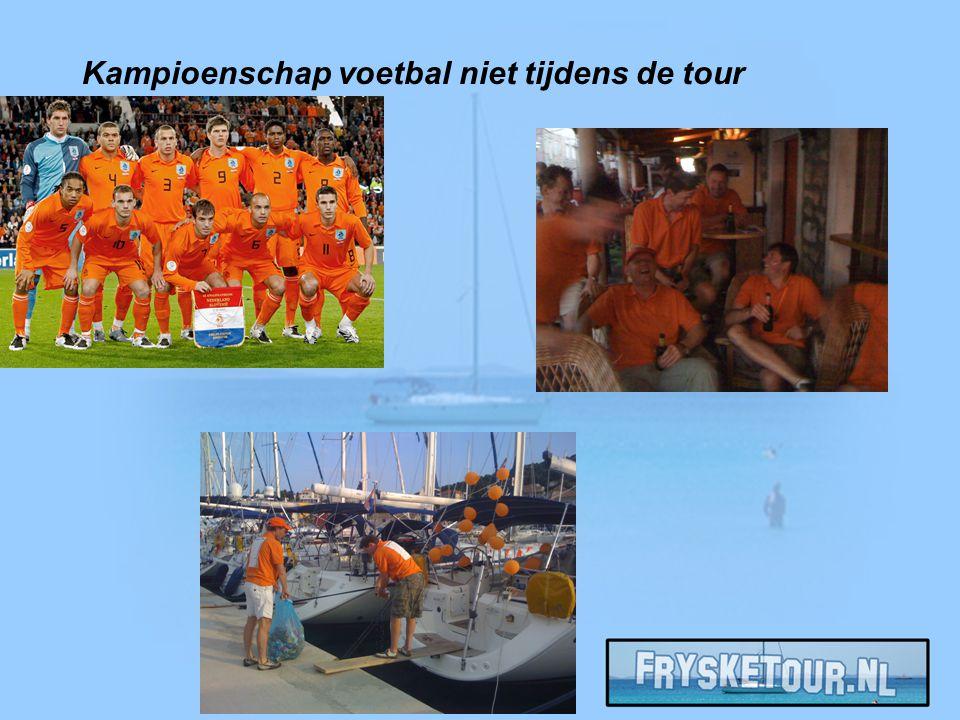 Kampioenschap voetbal niet tijdens de tour