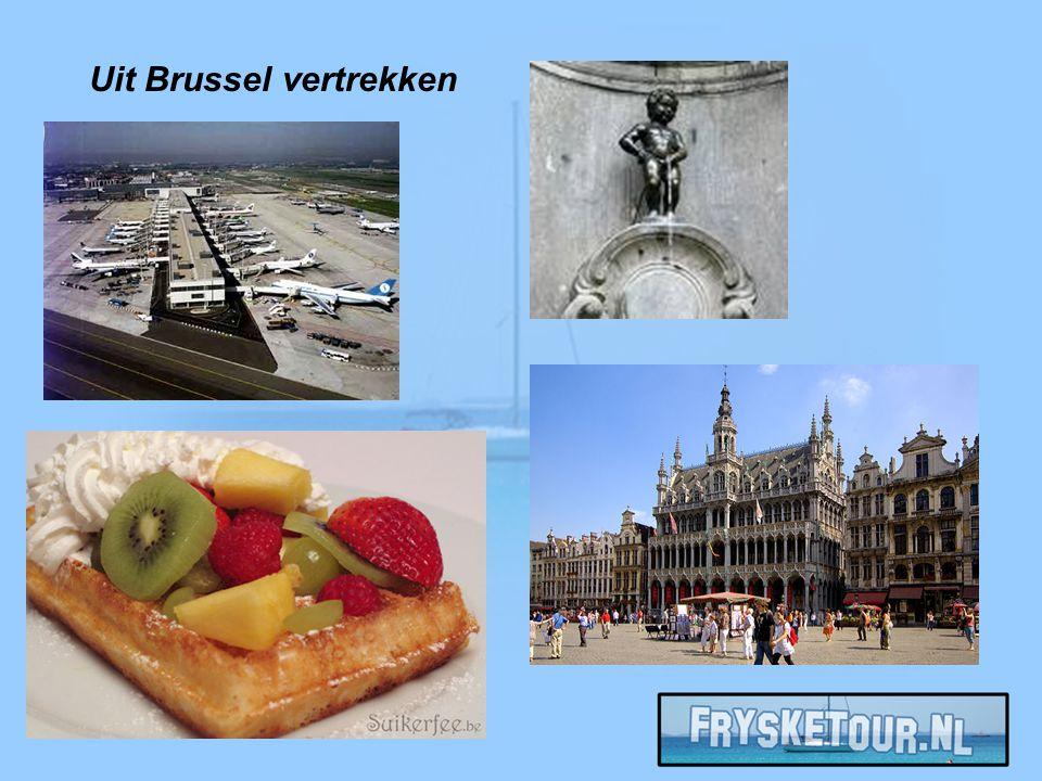 Uit Brussel vertrekken