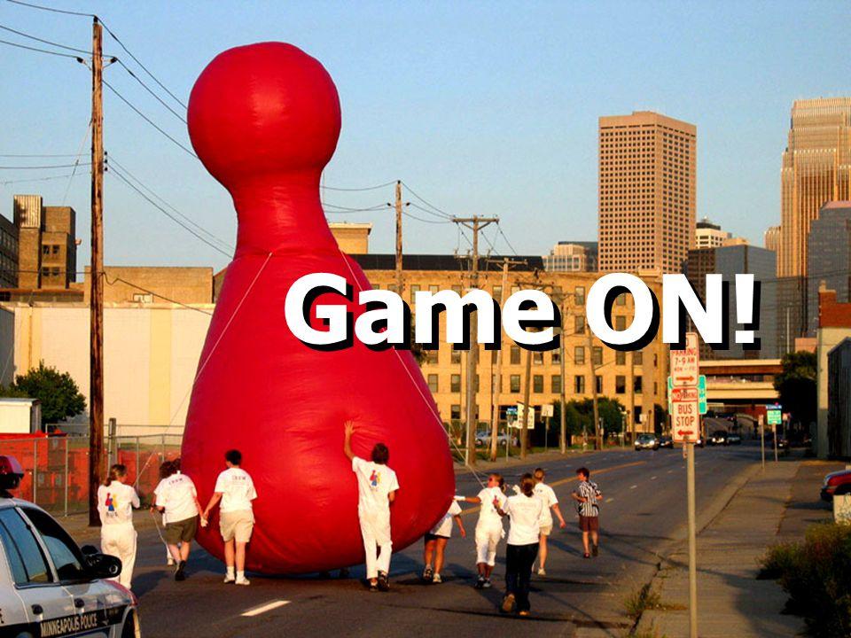 Game On!...geinspireerd op....