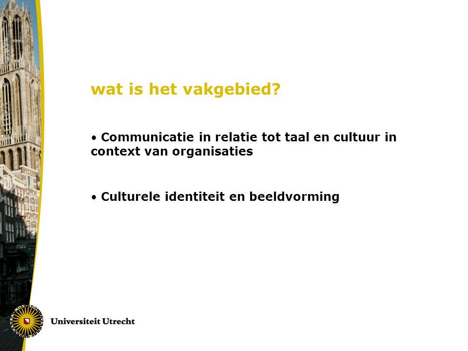 Waarom kiezen voor het masterprogramma ICC aan de Universiteit Utrecht.