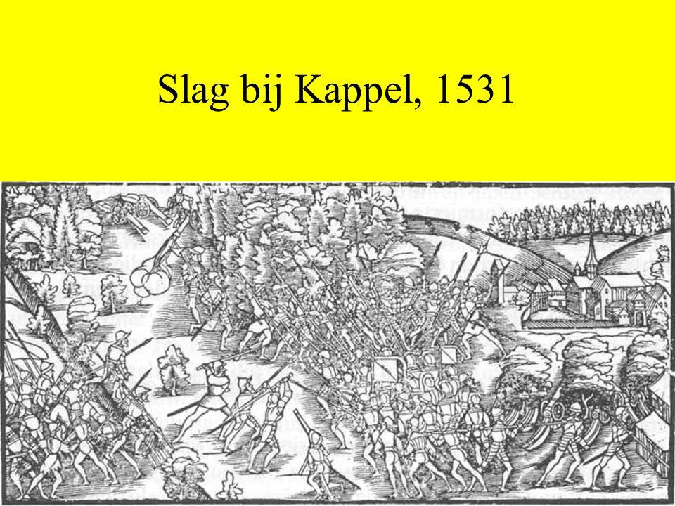 Slag bij Kappel, 1531