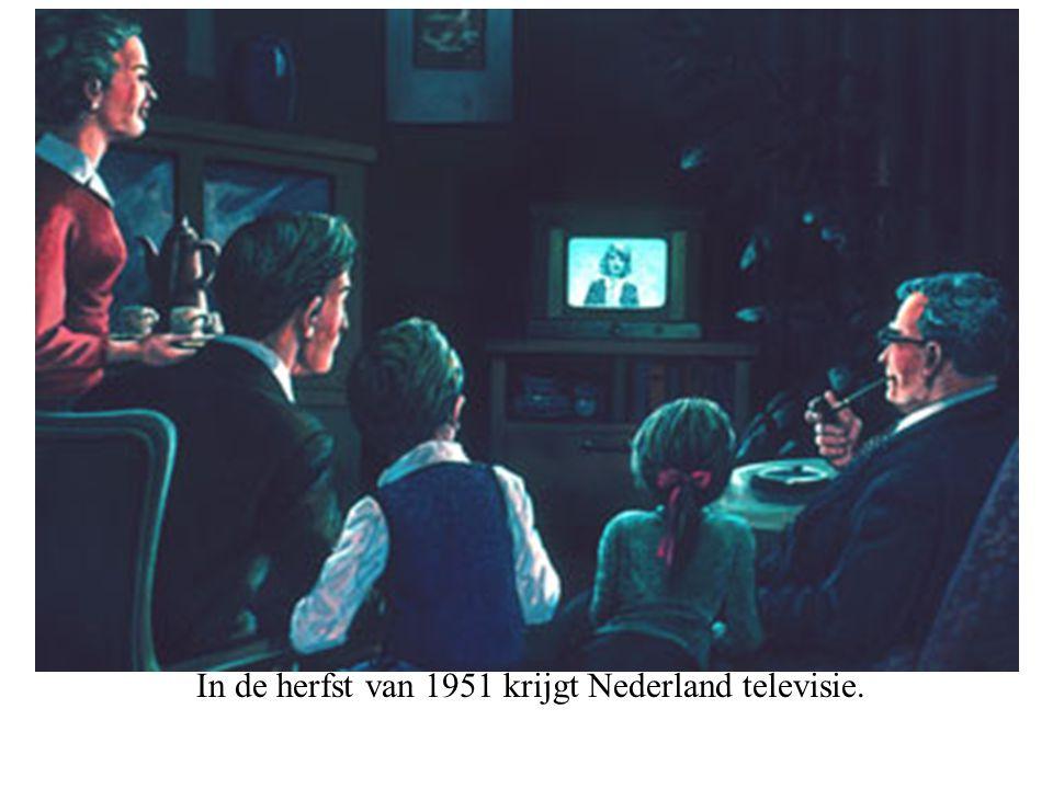 In de herfst van 1951 krijgt Nederland televisie.
