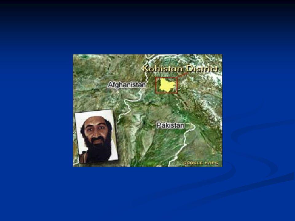 De stelling Waarom niet onderhandelen met Bin Laden en Al Qa'ida?