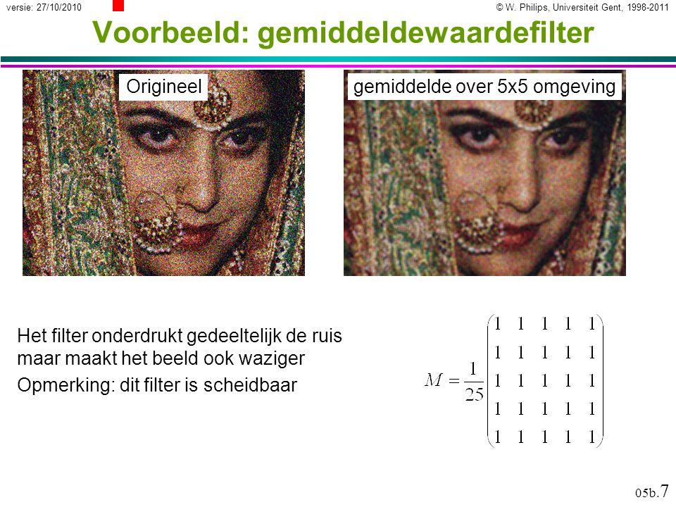 Lineaire filters Ruisonderdrukking
