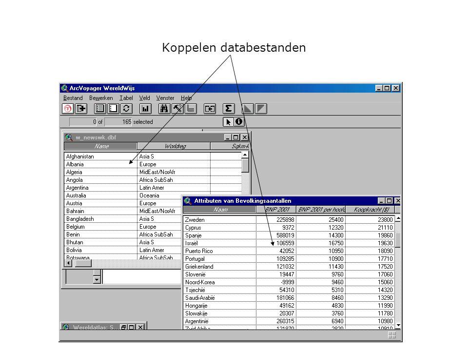 Koppelen databestanden