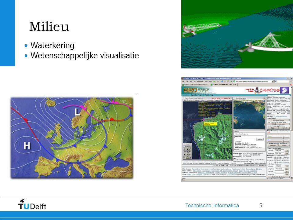 5 Technische Informatica Milieu Waterkering Wetenschappelijke visualisatie