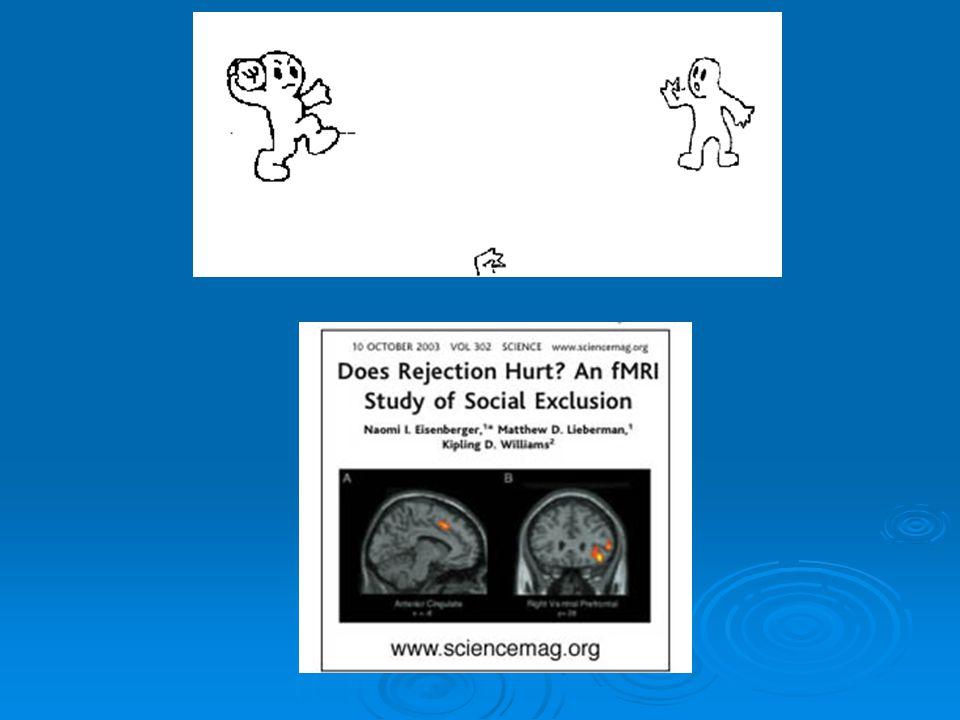  Doet 'pijn' en kan heel vervelend zijn (zie filmfragment MirrorMission)  Beste manier om effecten van buitensluiting goed te onderzoeken, is om mensen buiten te sluiten  Mogen we mensen als onderzoekers niet buitensluiten in een onderzoeksopstelling, omdat het 'pijn' doet en zo vervelend is.