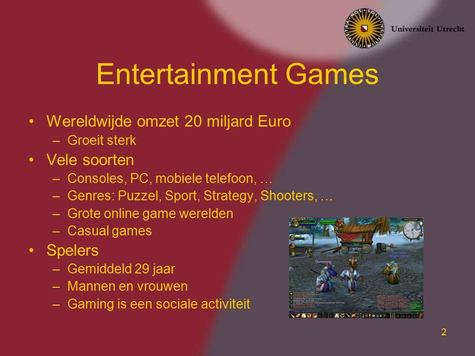 3 Serious Games Onderwijs Training en simulatie Besluitvorming Marketing Kunst Gebruikers interface