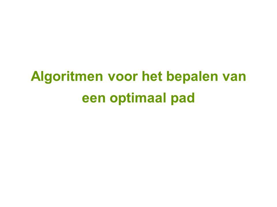 Algoritmen voor het bepalen van een optimaal pad