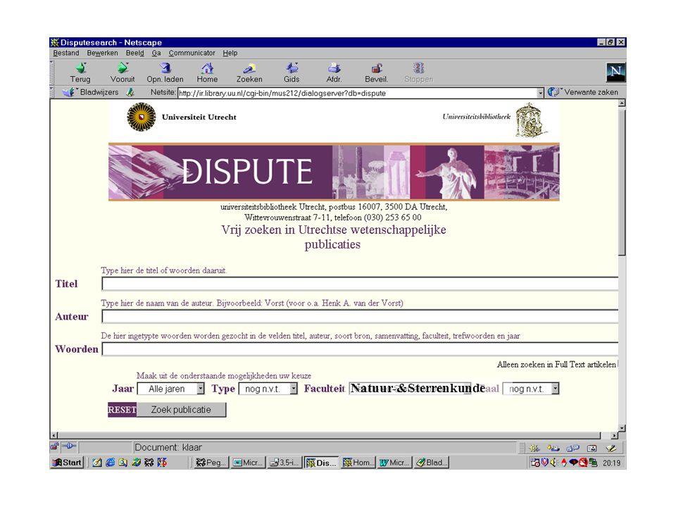Auteurs Organisatorische eenheid (faculteit, onderzoeksinstituut, onderwijsgroep)