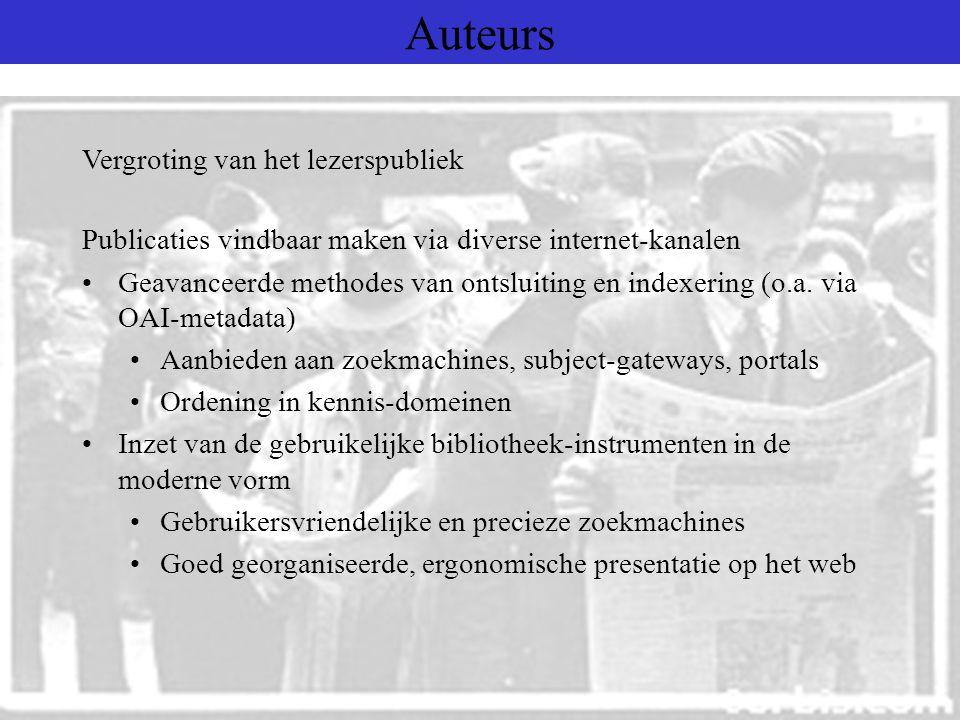 Auteurs Proefschriften/scripties