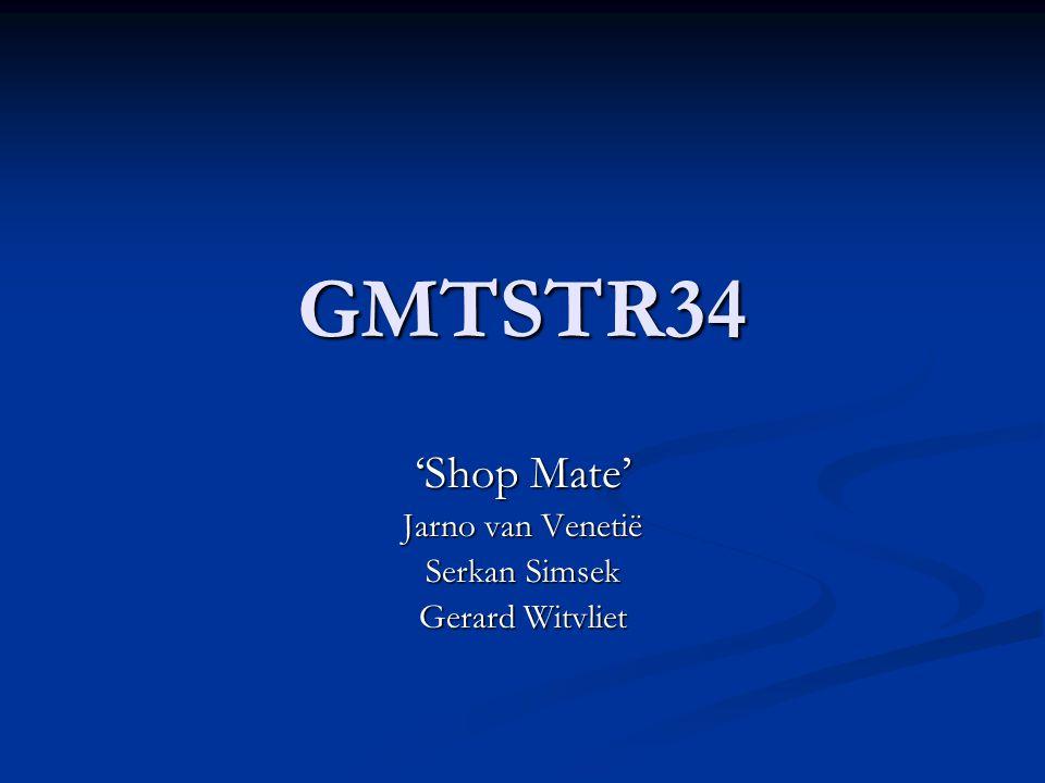 GMTSTR34 'Shop Mate' Jarno van Venetië Serkan Simsek Gerard Witvliet