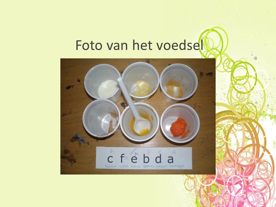 Foto van het voedsel