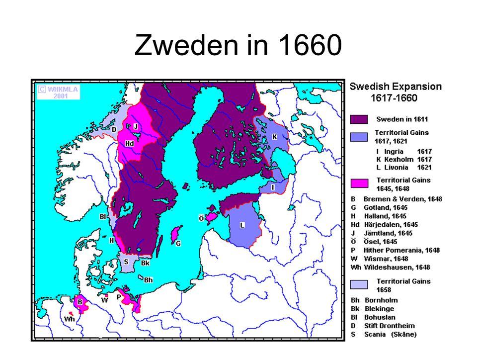 Zweden in 1660