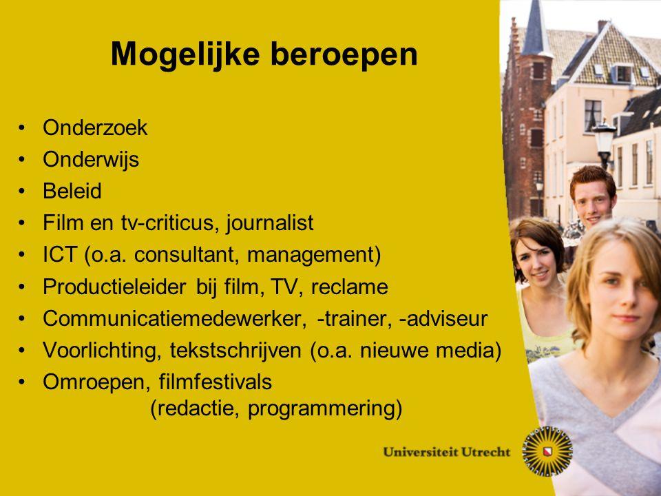 Academisch Onderzoeksgericht Mediavergelijkend Interdisciplinair Kenmerken CIW in Utrecht