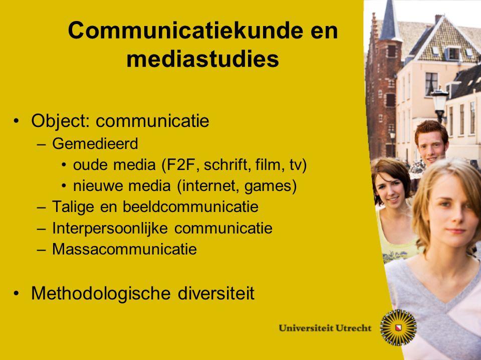 Bachelor/Master-systeem Bachelorfase: 3 jaar (24 cursussen) Major (18 cursussen) Profileringsruimte bijv.