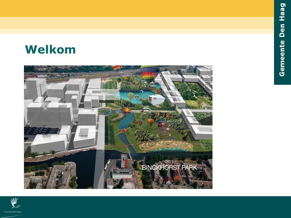 Gemeente Den Haag 100 jaar Haags Grondbedrijf Opgericht op 17 mei 1909 Begin 20ste eeuw periode van grote ontwikkelingen: bijv.