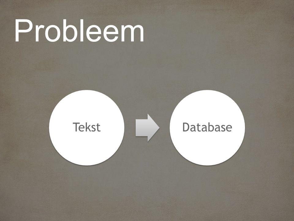 TekstDatabase