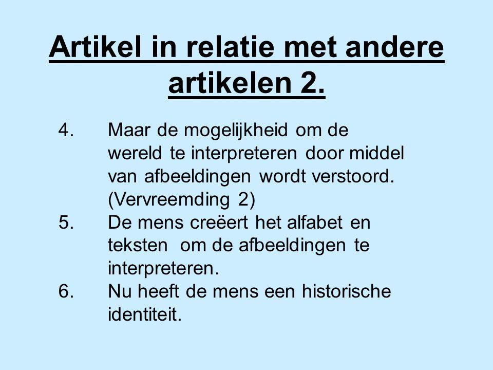Artikel in relatie met andere artikelen 2.4.