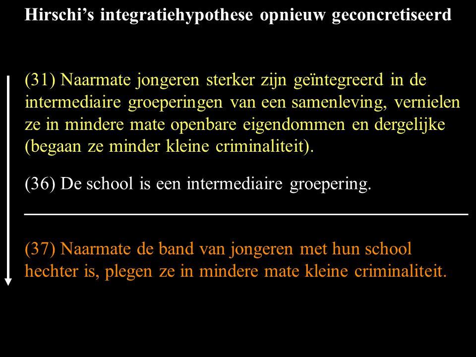 (36) De school is een intermediaire groepering.