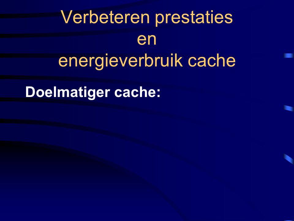 Doelmatiger cache: