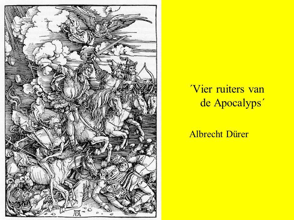 ´Vier ruiters van de Apocalyps´ Albrecht Dürer