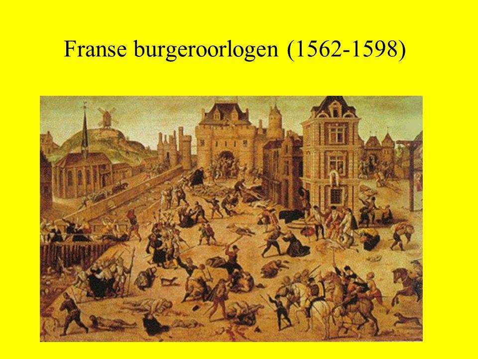 Franse burgeroorlogen (1562-1598)