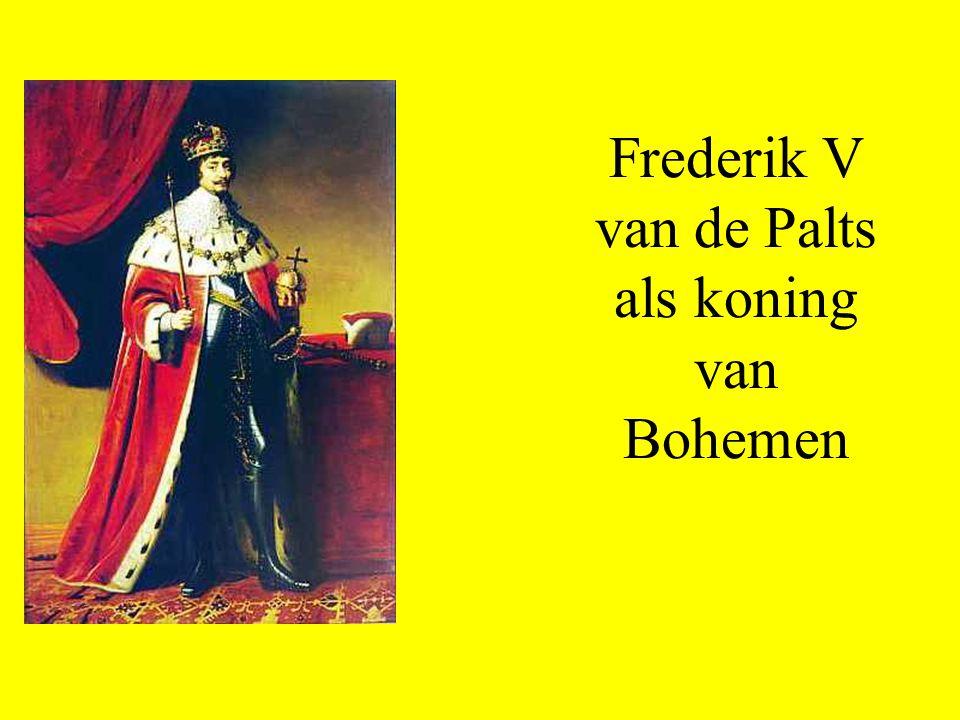 Frederik V van de Palts als koning van Bohemen