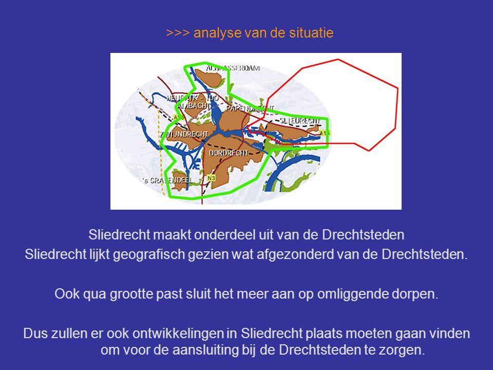 >>> analyse van de situatie Vanuit de Drechtsteden is een 'spoorzone' visie ontwikkeld: > vestigingslocaties voor zakelijke dienstverlening > economische impulsen voor de toekomst > visitekaartje Drechtsteden