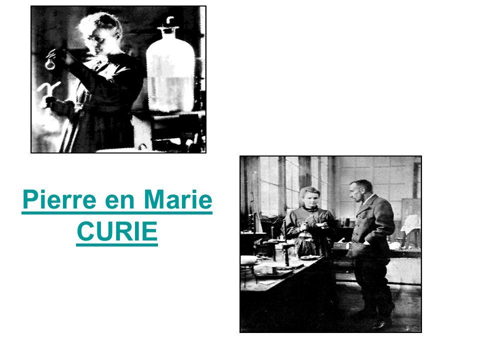 Pierre en Marie CURIE