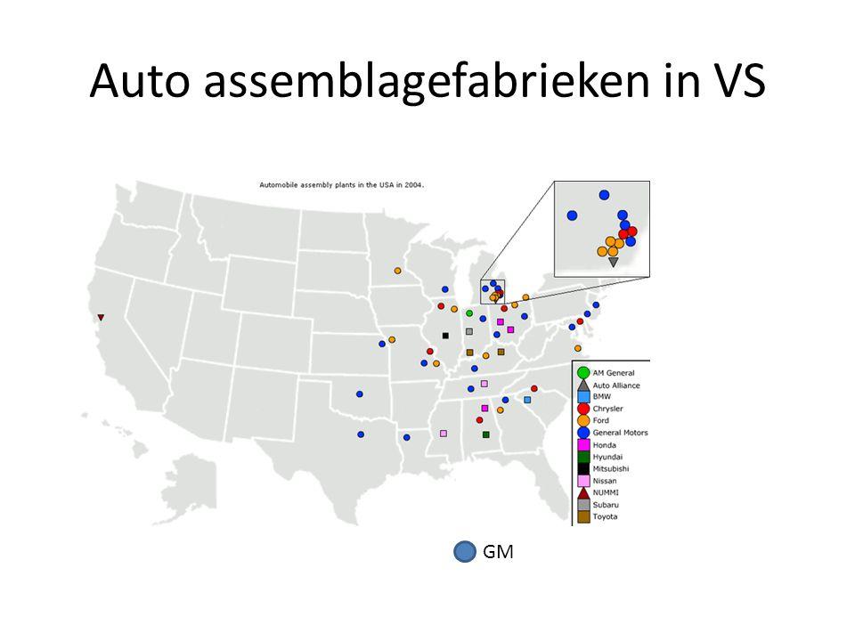Assemblage GM Europa Autoconstructeurs zijn multinationals Waarom.