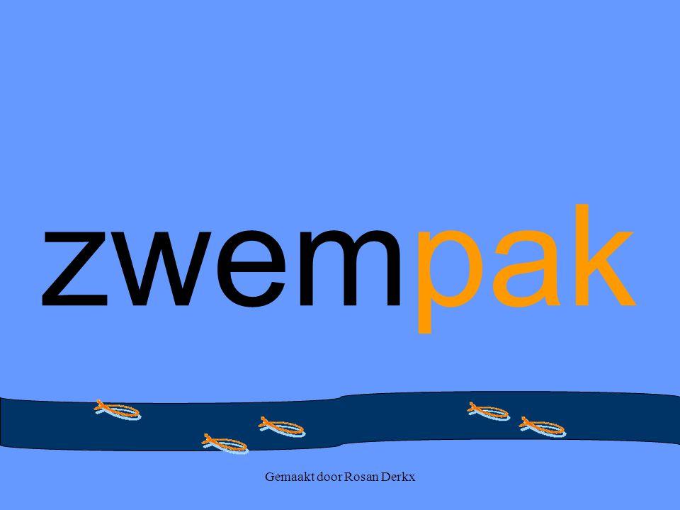 Gemaakt door Rosan Derkx zwempak