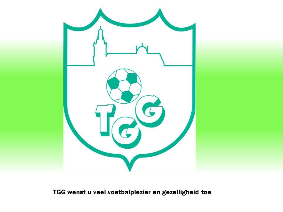 TGG wenst u veel voetbalplezier en gezelligheid toe