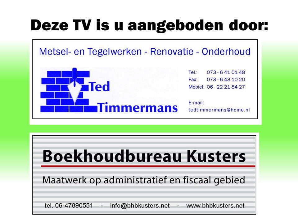 Deze TV is u aangeboden door: