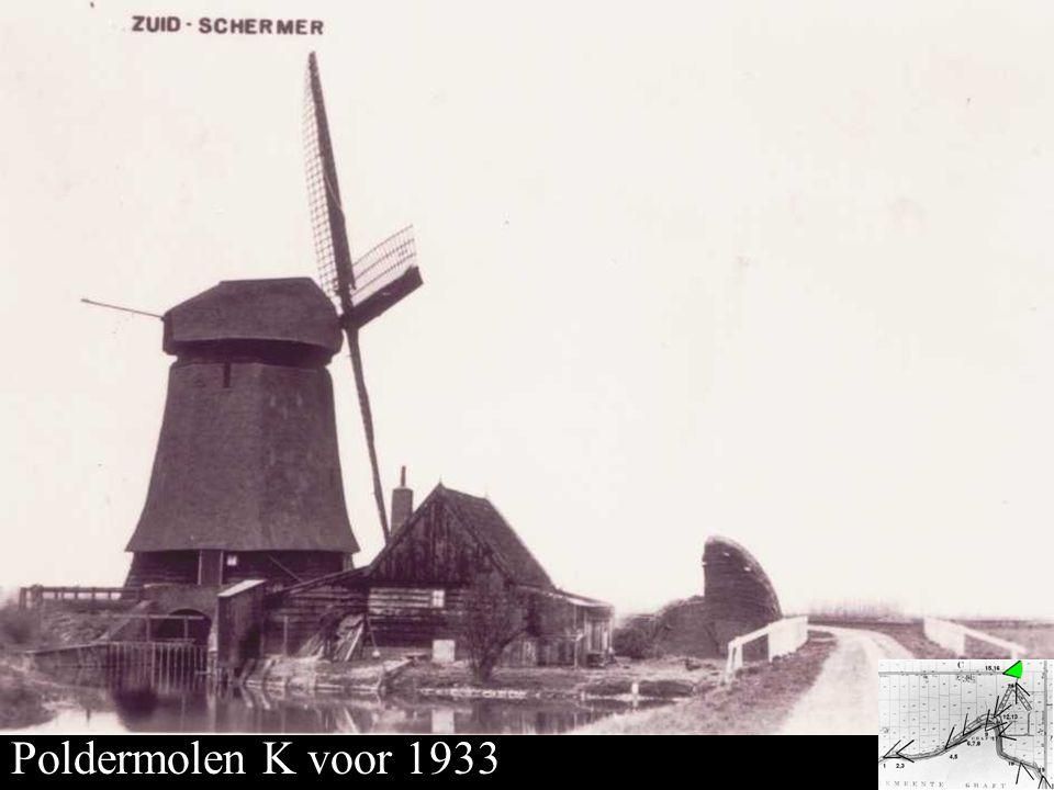 Poldermolen K Poldermolen K voor 1933