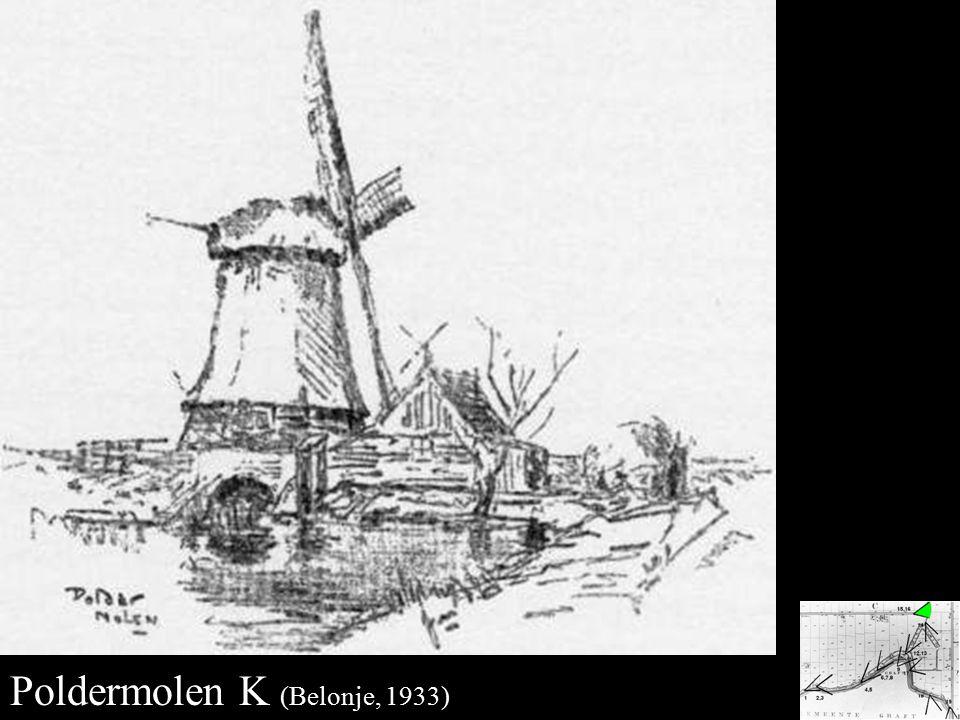 Poldermolen K Poldermolen K (Belonje, 1933)