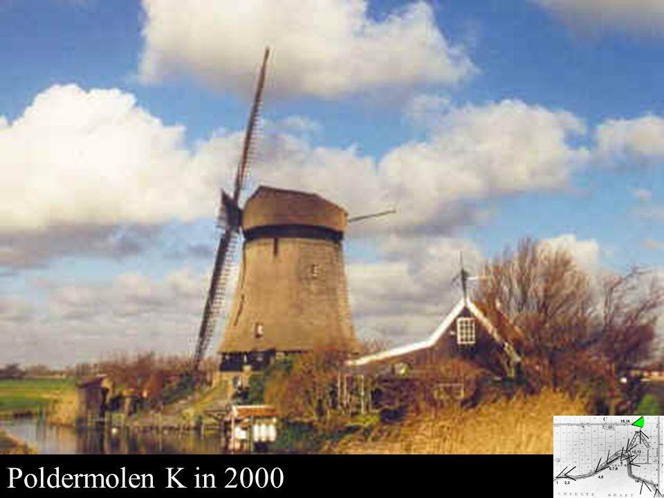 Poldermolen K in 2000