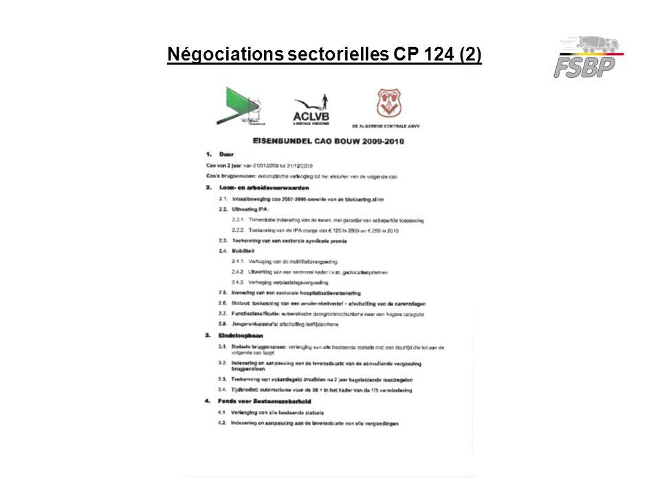 Négociations sectorielles CP 124 (2)