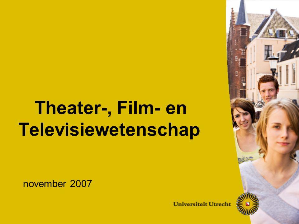 Theater-, Film- en Televisiewetenschap november 2007