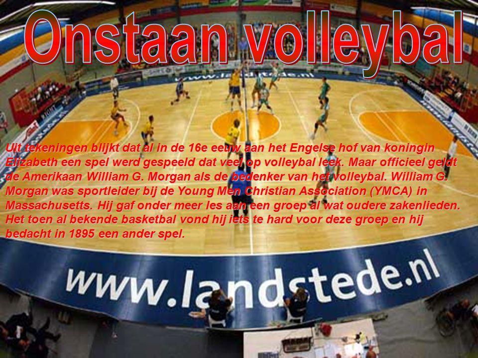Toch moet de Amerikaan William G Morgan worden gezien als de uitvinder van het volleybal.