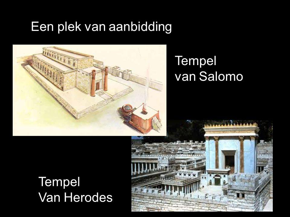 Tempel van Salomo Tempel Van Herodes Een plek van aanbidding
