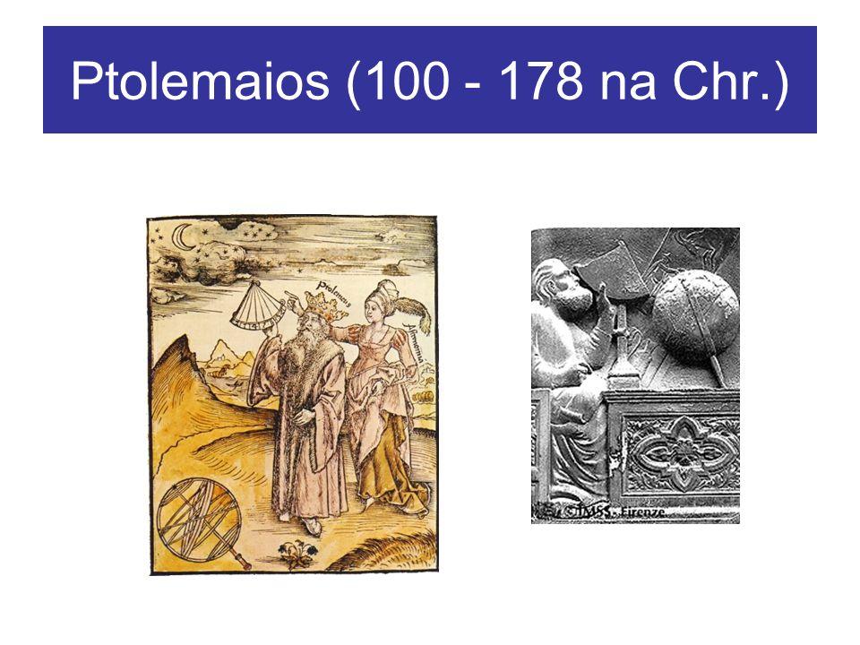 Ptolemaios Geocentrisch wereldbeeld Excentrieke cirkels en epicykels Astrolabe Universum is eindig en op menselijke schaal