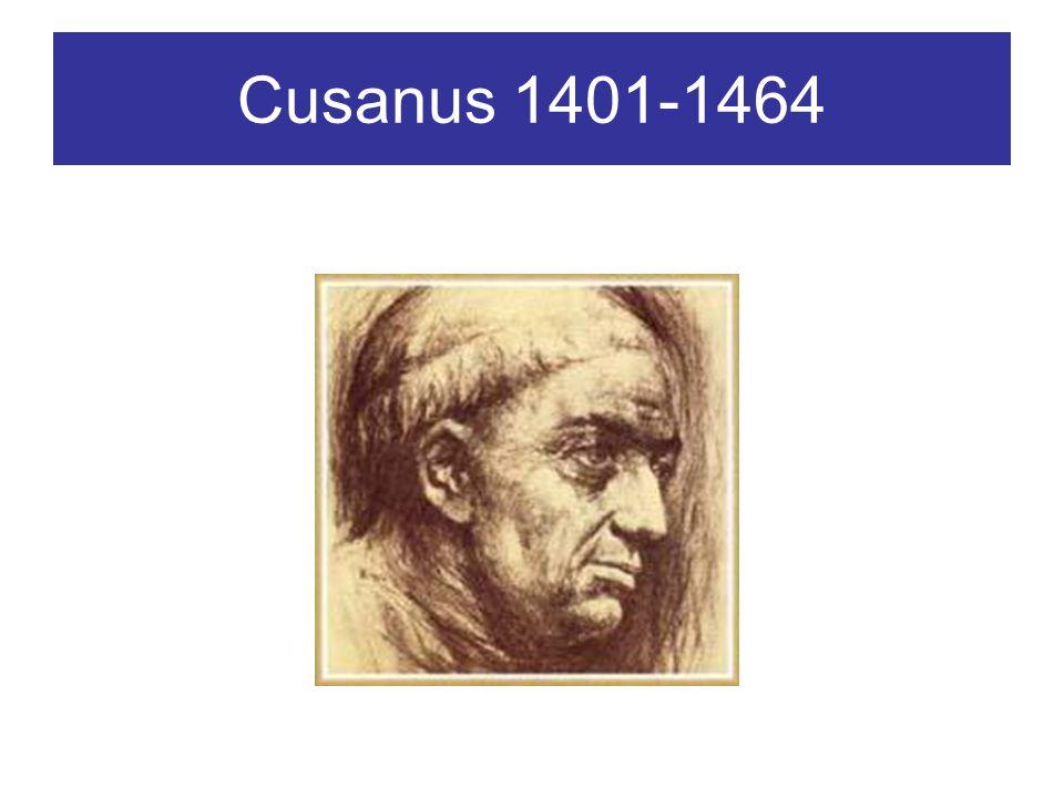 Cusanus 1401-1464