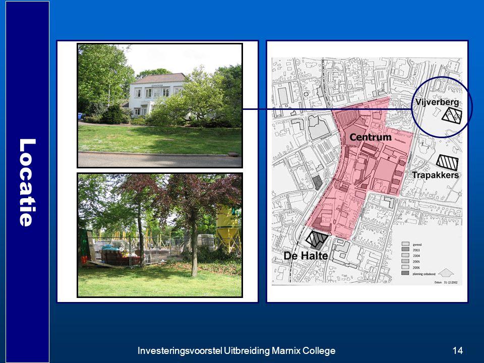 Investeringsvoorstel Uitbreiding Marnix College14 Locatie