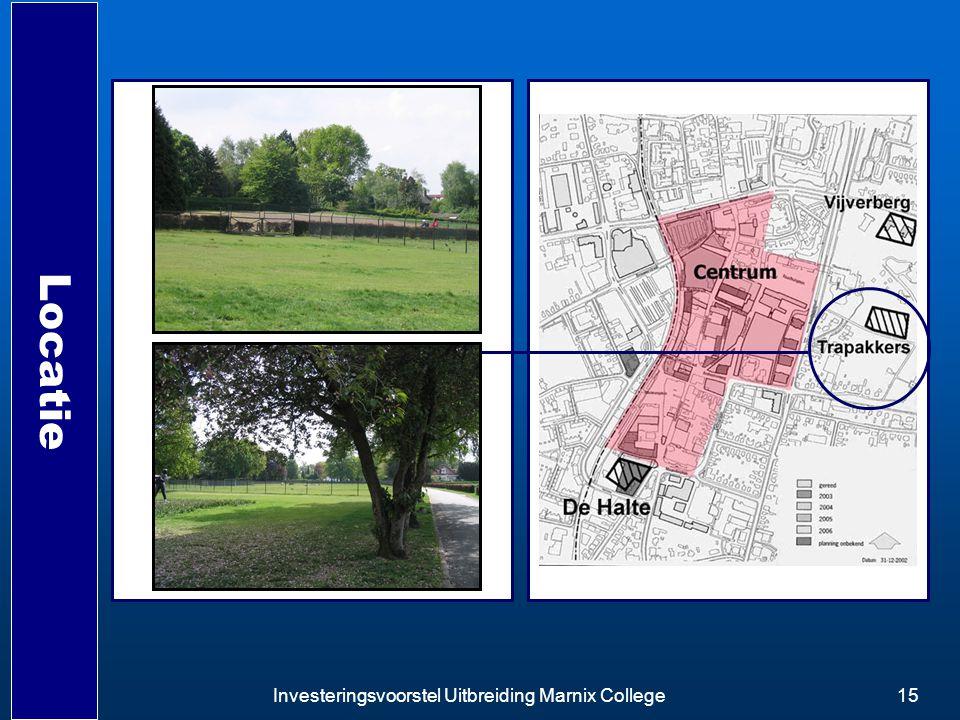 Investeringsvoorstel Uitbreiding Marnix College15 Locatie