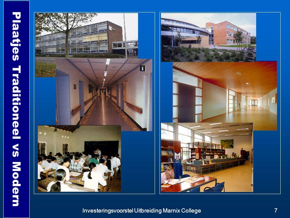 Investeringsvoorstel Uitbreiding Marnix College7 Plaatjes Traditioneel vs Modern