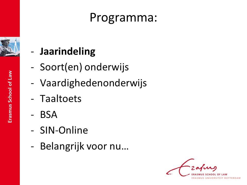 SIN-Online -http://esl.sin-online.nlhttp://esl.sin-online.nl -Inloggen: studentnummer@eur.nl bijvoorbeeld: 267883rr@eur.nlstudentnummer@eur.nl 267883rr@eur.nl -Course guide (informatie vak) -Subscribe -Registrations -My uploads -My timetable -Uploaden -Let op: plagiaat!!